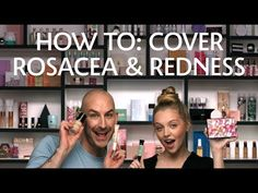 How To: Cover Rosacea & Redness Rosacea Makeup, Rosacea Causes, Anti Redness, Face Mist, Sensitive Skin Care, Face Skin Care, Perfect Skin, Good Skin, Skin Care Tips