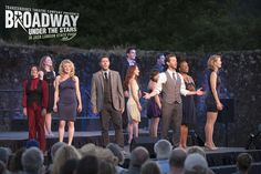 """The cast sings """"What I Could've Been"""" at Transcendence Theatre Company's Broadway Under The Stars in Jack London State Park - Sonoma, Napa, WIne Country. http://www.transcendencetheatre.org/ Photo By Ray Mabry"""