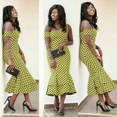 "854 Likes, 3 Comments - AsoebiAfrica® (@asoebiafrica) on Instagram: ""#printastic #ankaratasticasoebiafrica  @mhiss_nana -  Wedding guest ready in @privonne_"""
