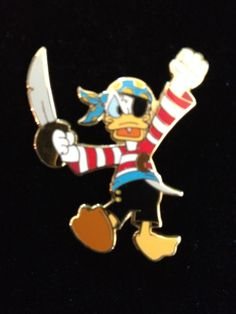 48th All American Pin Quest - Donald Duck as Pirate 2003