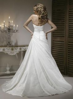 Picture of Back of Kirstie Wedding Dress - Maggie Sottero 2011 Collection