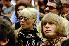 German model and singer Nico - of the Velvet Underground, and British musician Brian Jones - of the Rolling Stones, sit in the audience at the Monterey International Pop Festival in Monterey, Calif. The Rolling Stones, Keith Richards, Mick Jagger, Beatles, American Music Festival, Ibiza, Divas, Monterey Pop Festival, Founding Fathers