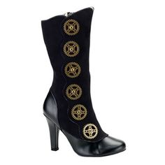 steam punk fashion-I must have these
