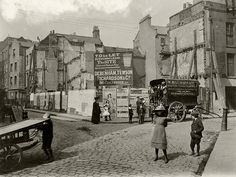 Streets of London: Spitalfields a century ago - in pictures  On Saturday 20 April 1912, photographer CA Mathew stepped off the train at Li...