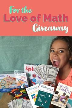 Enter to win over $175 in discovery-based math curriculum and manipulatives. From the folks at playdiscoverlearn247.com, arithmophobianomore.com, and denisegaskins.com.