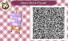 Animal Crossing: New Leaf & HHD QR Code Paths , joyouscatus:   I made a pack of colorful brick...