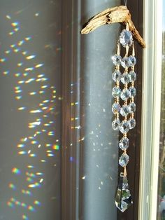 Wind Chimes with Crystal.