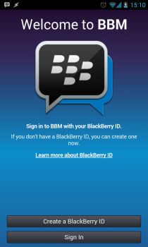BBM App for Android Free Download Official Apk