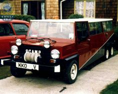 Now that's my Cupa-t! A 6 Wheeled Mk2 Mini Scamp, too cool.