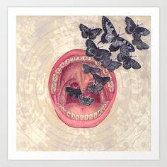 Bavarder Art Print by Audrey Smith - $18.72