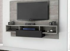 TV Wall Mount Ideas To Create Perfect View Of Your Decor 50 Cool TV Stand Designs for Your Home tv stand ideas diy, tv stand ideas for living room, tv stand ideas bedroom, tv stand ideas black, Corner Tv Stands, Cool Tv Stands, Corner Tv Stand Ideas, Bedroom Tv Stand, Tv In Bedroom, Bedroom Ideas, Tv Wall Design, House Design, Bedroom Tv Unit Design