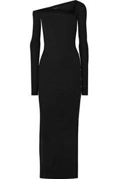 Alix NYC - Morris ribbed stretch-modal jersey maxi dress Black stretch-modal jersey Slips on modal, spandex Hand wash Pretty Dresses, Dresses For Work, Summer Dresses, Maxi Dresses, Awesome Dresses, Jersey Maxi, Fashion Over 50, Alternative Fashion, Plus Size Fashion