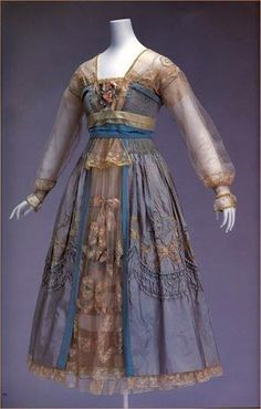 Vintage dress by Lucille, 1916