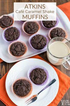 Café Caramel Shake Muffins