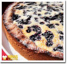 Kikas virtuve: Melleņu-rikotas pīrāgs