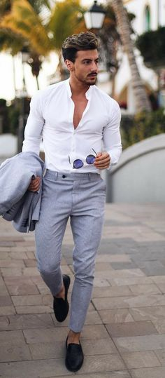 9 Minimal Business Casual Outfits For Men Business Casual Männer Formal Dresses For Men, Formal Men Outfit, Dress Formal, Dress Casual, Formal Wear For Men, Men's Business Outfits, Business Casual Outfits, Business Fashion, Terno Slim
