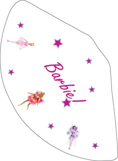Barbie Party Hat  Party Hats Free printable and a lot of other free Barbie printables