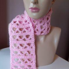 Ocean Wave Summer Scarf  free #crochet scarf pattern