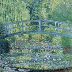Lo stagno delle ninfee, armonia verde (opera di Monet)