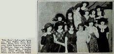 1922 - WAMPAS Baby Stars of 1922:  Photoplay (May 1922):- Marion Aye, Helen Ferguson, Lila Lee, Jacqueline Logan, Louise Lorraine, Bessie Love, Kathryn McGuire, Patsy Ruth Miller, Colleen Moore, Mary Philbin, Pauline Starke, Lois Wilson, Claire Windsor