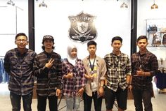 """Today! """"Satday Flannel"""" INSPIRED27. Visit our 2nd Store at Jl. Kendalsari no.6 Malang. www.inspired27.com"""