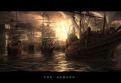 The Armada by RadoJavor