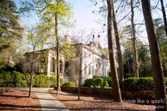 beautiful event space, gorgeous venue, architecture, atlanta wedding locations :: Kelsey + Ian's Wedding at the Swan House in the Atlanta History Center :: with Nikki