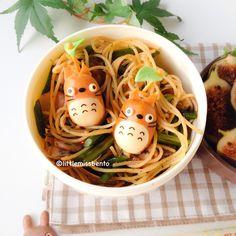 Totoro Sausage Bento