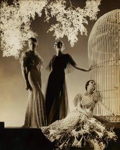 Stunning 1930s gowns, photo by Edward Steichen