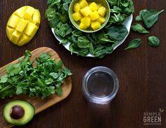 Cilantro-Mango Detox - Simple Green Smoothies