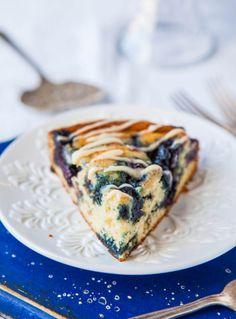 Blueberry+and+Jam+Buttermilk+Coffee+Cake+with+Buttery+Vanilla+Glaze+averiecooks.com