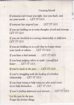 """Poem by Mia Tyler in a book by Steven Tyler, """"Does the Noise in my Head bother you?""""   (Let Go of All that No Longer Serves You)"""