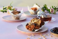 Maggie Beer's Raspberry, Pomegranate and Coconut Muffins