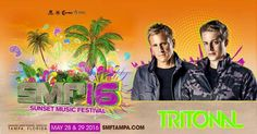 Join us for TRITONAL at SUNSET MUSIC FESTIVAL 2016!  Enter promo code: TEAMNOSLEEP for a DISCOUNT on the fun!  #TRITONAL @TRITONAL @SMFTAMPA #SMFTAMPA #SUNSETMUSICFESTIVAL #SMF16 #SMFTAMPA16 #TRITONAL #EDM #RAVE #EDMFESTIVAL #RAVEFESTIVAL #RAVERS #PLUR #EATSLEEPRAVEREPEAT #TAMPAEDM #FLORIDAEDM #FESTIVAL #MUSICFESTIVAL