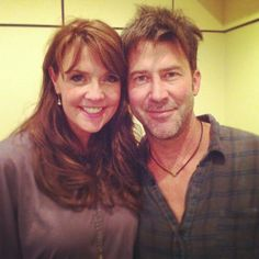 Amanda Tapping & Joe Flanigan