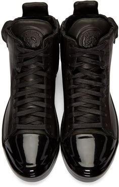 Diesel - Black S-Nentish Special High-Top Sneakers
