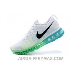 quality design bcce8 62945 Discount Soldes Notre Gamme De Nike Air Max Flyknit Femme Baskets Blanche  Vert En Ligne
