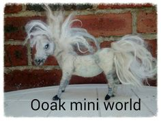 Ooak needle felted fantasy wild pony sculpt sculpture great for fairy waldorf horse unicorn pegasus art doll collector. Fibre art collector