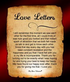 Love Letters for Him #11