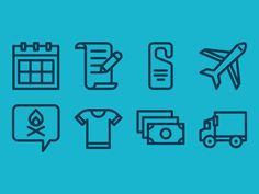 Retreat Icons by Vic Bell for Articulate