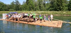 Munich Germany 139€ per person (log raft)
