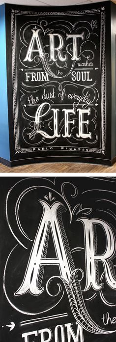 typography by Natalie Krick #typography #handlettering #lettering