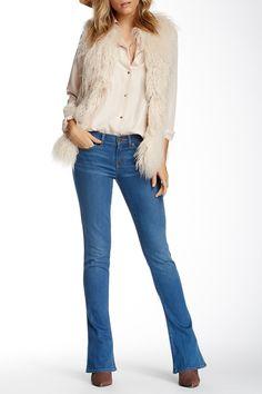 Breana Mid Rise Skinny Flare Jean