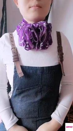 Ways To Tie Scarves, Ways To Wear A Scarf, How To Wear Scarves, How To Wear A Blanket Scarf, Scarf Knots, Diy Scarf, Scarf Wrap, Scarf Wearing Styles, Scarf Styles