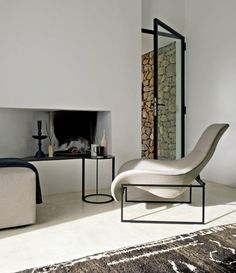 What is missing? Me and a book :) Interior Designed Living Room By B & B Italia