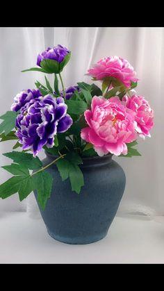 Paper Flowers Craft, Flower Crafts, Diy Flowers, Paper Crafts, Diy Crafts For Home Decor, Diy Crafts Hacks, Creative Crafts, Diy Wedding Decorations, Bridal Shower Decorations