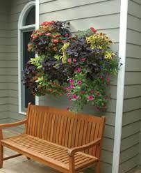Pretty wall planter