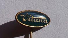 Badge pin Vitana Czechoslovak food firm Cooking   Collectibles, Historical Memorabilia, Cities & Towns   eBay! Pin Badges, Cities, Cooking, Accessories, Ebay, Food, Cuisine, Kitchen, Meal