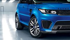 Range Rover Sport SVR wheel arch