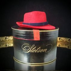 Stetson Salesman Sample Hat With Box Stetson Miniature Hat by  OldGLoriEstateSale on Etsy Les Minis a92cb6a32e64